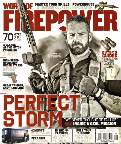 World of Firepower Cover - 7/1/2014
