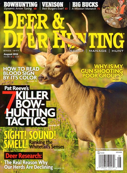 Deer & Deer Hunting Cover - 7/1/2014