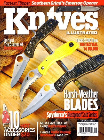Knives Illustrated Cover - 7/1/2014
