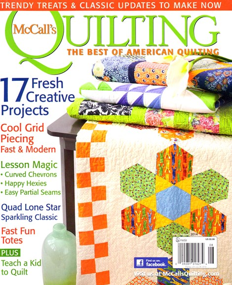 McCall's Quilting Cover - 7/1/2014