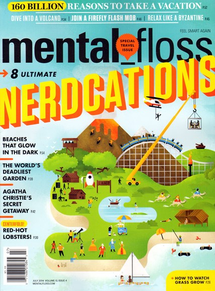 Mental Floss Cover - 7/1/2014