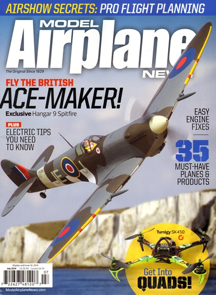 Model Airplane News Cover - 7/1/2014