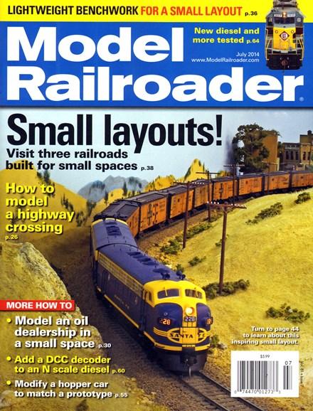 Model Railroader Cover - 7/1/2014