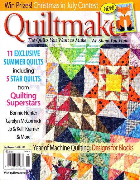 Quiltmaker Cover - 7/1/2014