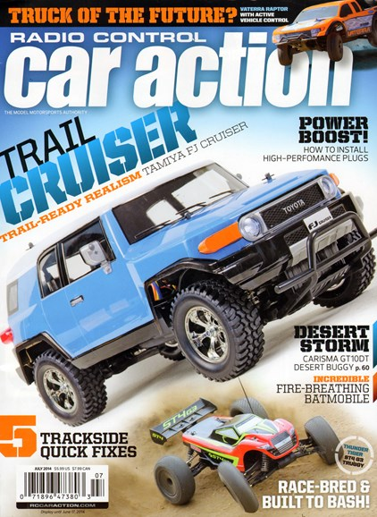 Radio Control Car Action Cover - 7/1/2014