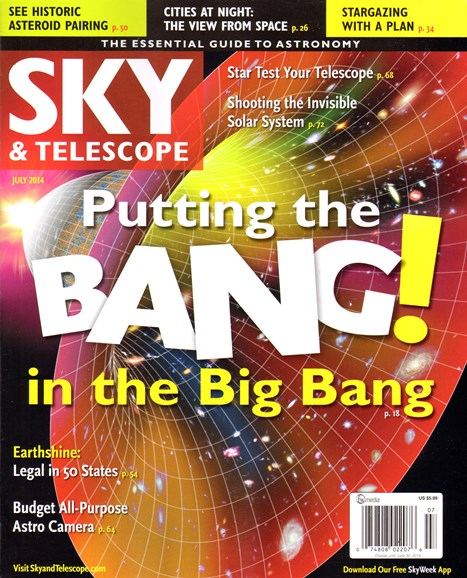 Sky & Telescope Cover - 7/1/2014
