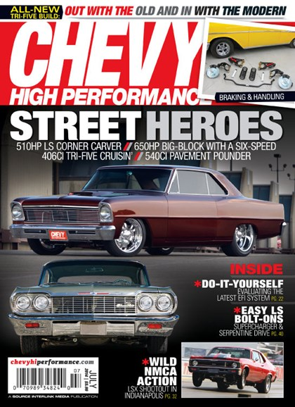 Chevy High Performance Cover - 7/1/2014