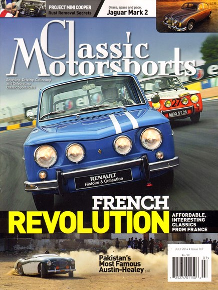 Classic Motorsports Cover - 7/1/2014