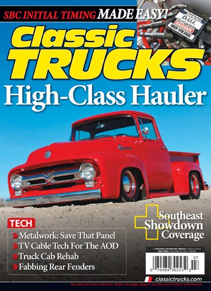 Classic Trucks Cover - 7/1/2014