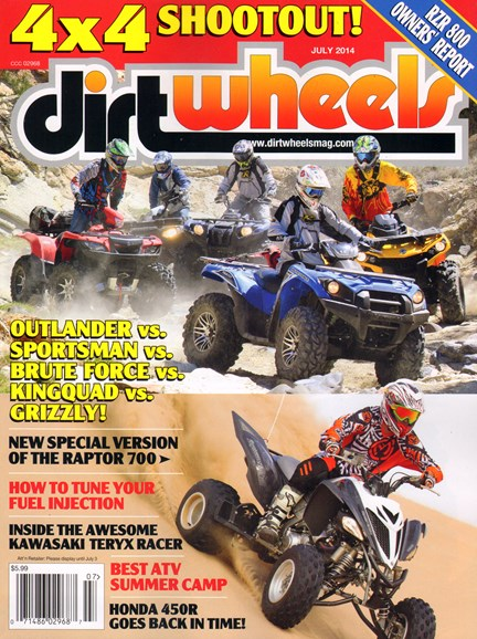 Dirt Wheels Cover - 7/1/2014