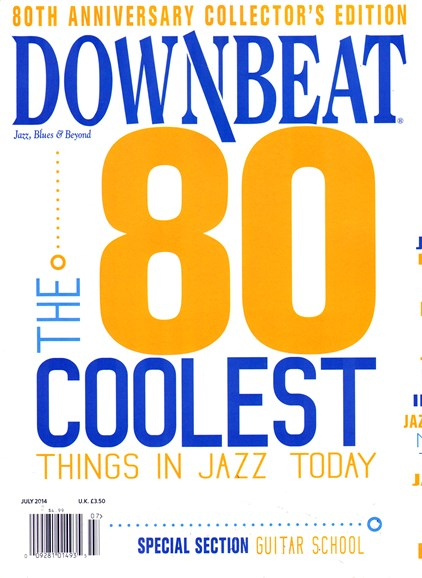 DownBeat Cover - 7/1/2014