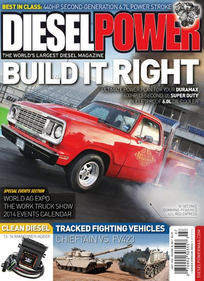Diesel Power Cover - 7/1/2014