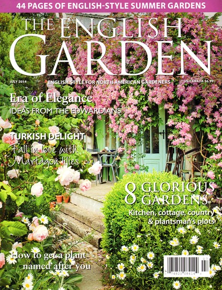 The English Garden Cover - 7/1/2014