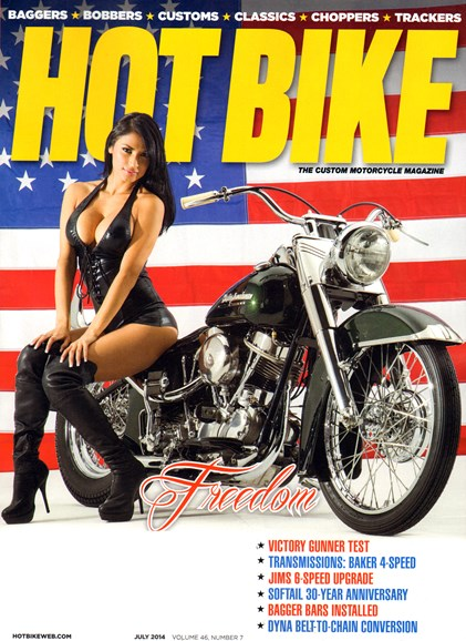 Hot Bike Cover - 7/1/2014