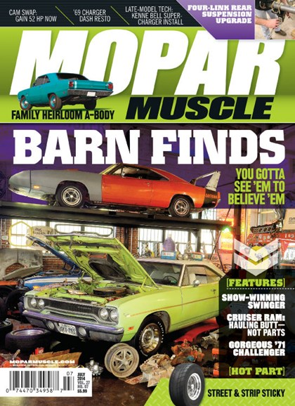 Mopar Muscle Cover - 7/1/2014