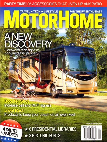 MotorHome Cover - 7/1/2014