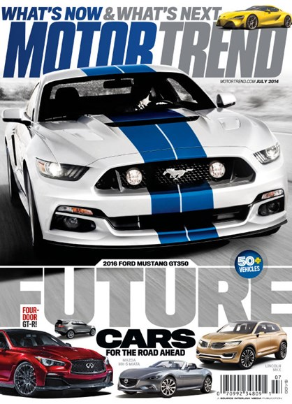 Motor Trend Cover - 7/1/2014