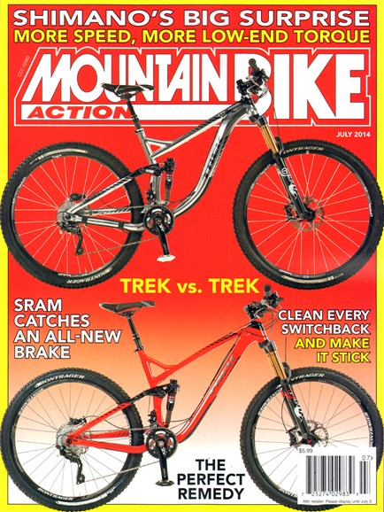 Mountain Bike Action Cover - 7/1/2014