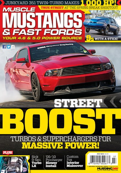 Muscle Mustangs & Fast Fords Cover - 7/1/2014