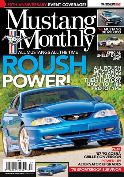 Mustang Monthly Cover - 7/1/2014