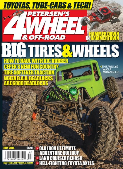 4 Wheel & Off-Road Cover - 7/1/2014