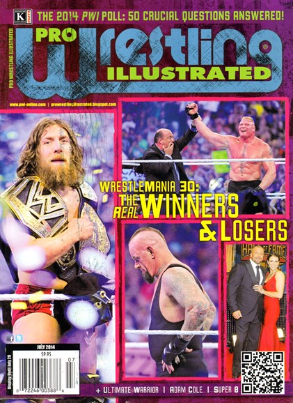 Pro Wrestling Illustrated Cover - 7/1/2014