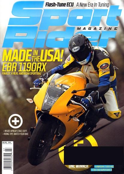 Sport Rider Cover - 7/1/2014