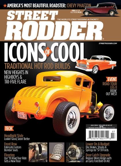 Street Rodder Cover - 7/1/2014