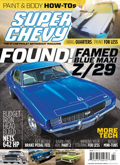Super Chevy Cover - 7/1/2014