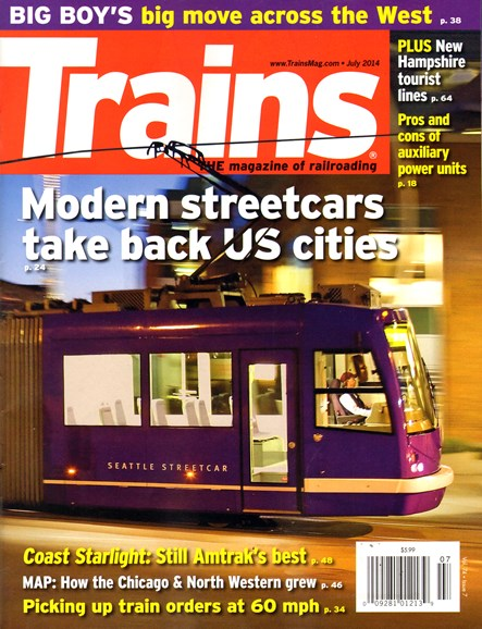 Trains Cover - 7/1/2014
