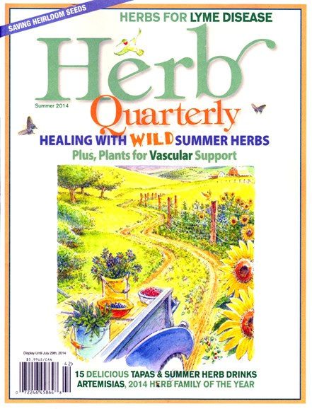 Herb Quarterly Cover - 6/1/2014