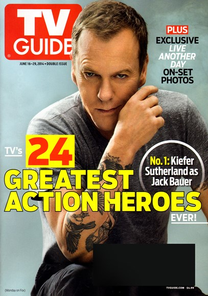 TV Guide Cover - 6/16/2014
