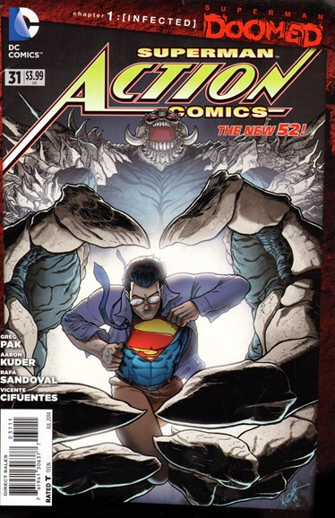 Action Comics Cover - 7/1/2014