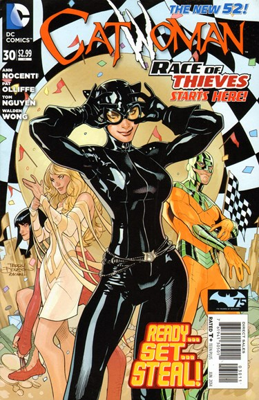 Catwoman Cover - 6/1/2014