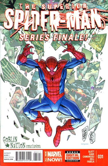 Amazing Spider-Man Cover - 6/1/2014