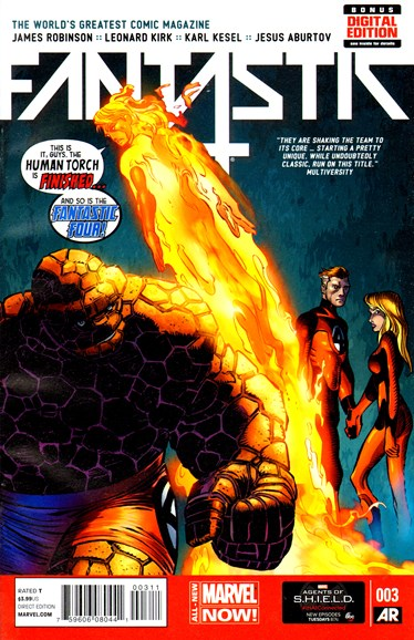 Fantastic Four Cover - 6/1/2014