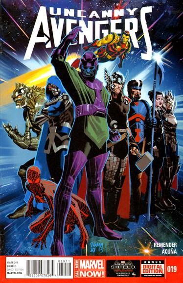 Uncanny Avengers Cover - 6/1/2014