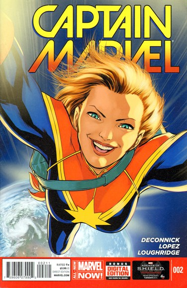 Captain Marvel Cover - 6/1/2014