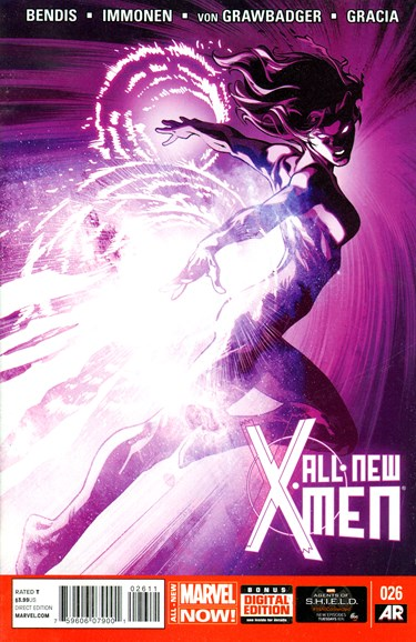 X-Men Blue Cover - 6/1/2014