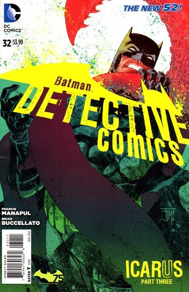 Detective Comics Cover - 8/1/2014