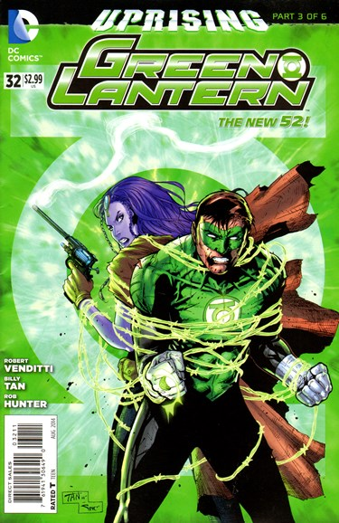Green Lanterns Cover - 8/1/2014