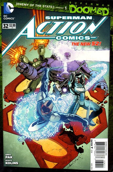 Action Comics Cover - 8/1/2014