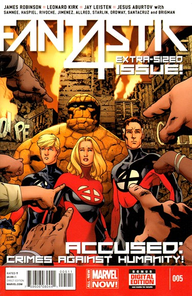 Fantastic Four Cover - 7/1/2014