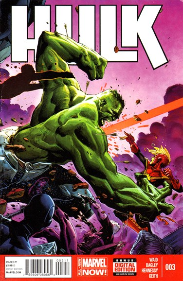 Immortal Hulk Cover - 7/1/2014