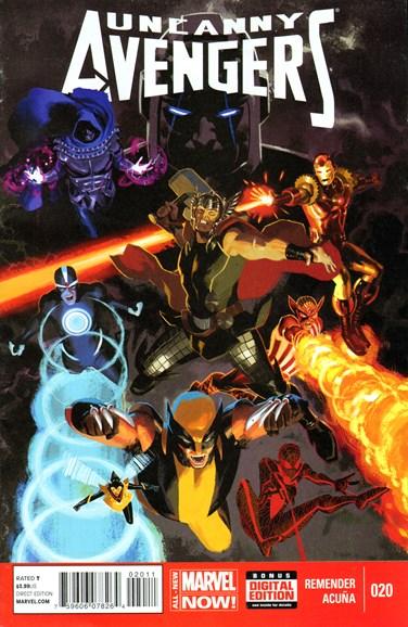 Uncanny Avengers Cover - 7/1/2014