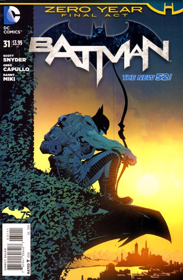 Batman Cover - 7/1/2014