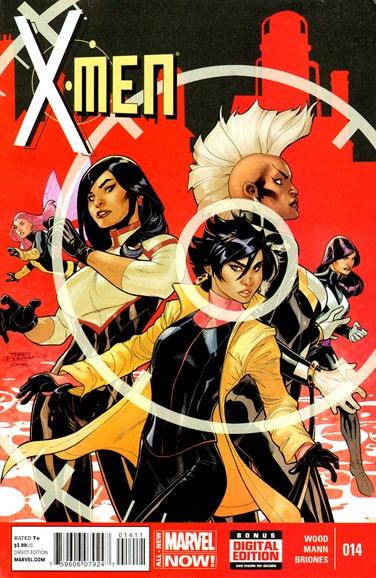X-Men Gold Cover - 7/1/2014