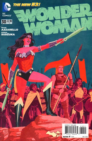 Wonder Woman Cover - 6/1/2014