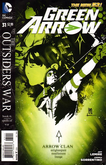Green Arrow Cover - 7/1/2014
