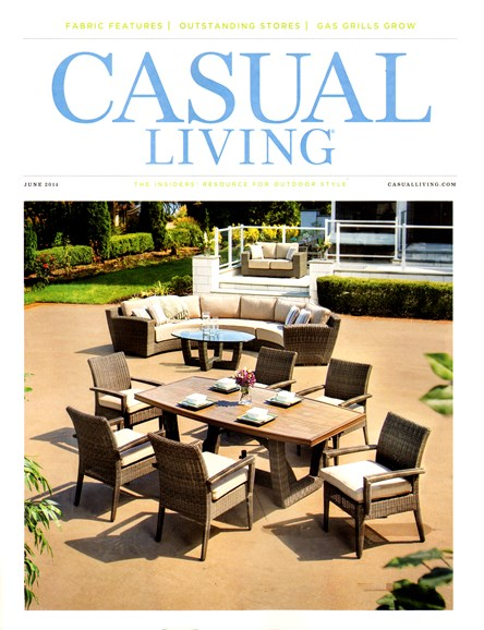 Casual Living Cover - 6/1/2014